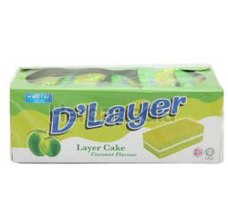 Hwa Tai D'Layer Coconut Layer Cake 408gm