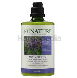 Nunature Anti-Stress Bath & Shower Cream 450ml