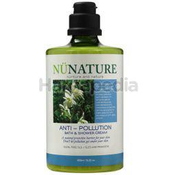 Nunature Anti-Pollution Bath & Shower Cream 450ml