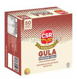 CSR Natural Brown Sugar 50x5gm