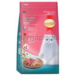 Smart Heart Adult Cat Food Chicken & Tuna 10kg