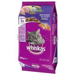 Whiskas Adult Dry Cat Food Mackerel 20kg