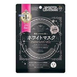 Kose Cosmeport Clear Turn Princess Veil Pure White Mask 8s