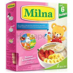 Milna Cereal 6+ Banana & Strawberry 120gm