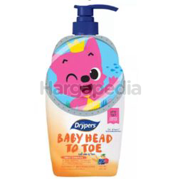 Drypers Baby Head to Toe Fruit Complex Pink Fong LE 750ml