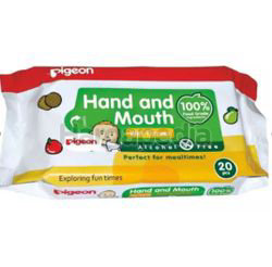 Pigeon Hand & Mouth Wet Tissues 20s