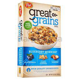 Post Great Grain Blueberry Morning 382gm