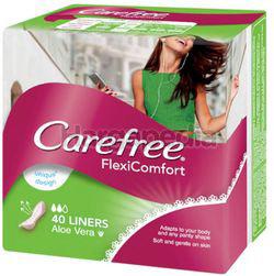 Carefree Aloe Vera Breathable Pantyliner 40s