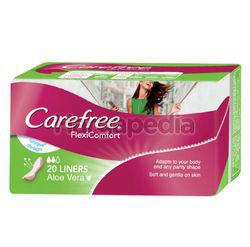 Carefree FlexiComfort Aloe Vera Liners 20s