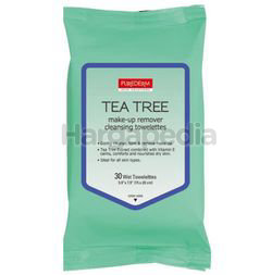 Purederm Tea Tree Make-Up Remover Cleansing Wipes 30s