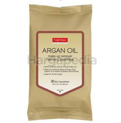 Purederm Argan Oil Cleansing Wipes 30s