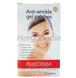 Purederm Anti-wrinkle Gel Patches 12s