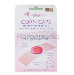 Carnation Corn Caps 40% Medicated Plasters 5s