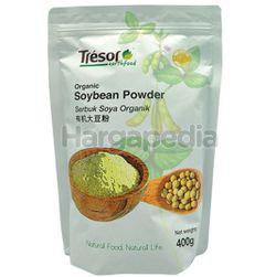 Tresor Earthfood Organic Soybean Powder 400gm