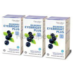 Opceden Bilberry Eyebright Plus 3x60s