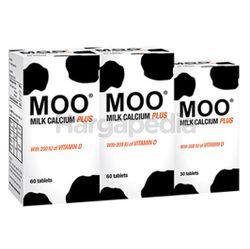 Moo Milk Calcium Plus 2x60s+30s