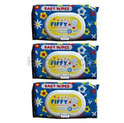 Fiffy Baby Wipes 3x100s