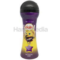 Dalin Microphone Bottle Kids Hair & Body Wash Strawberry 300ml