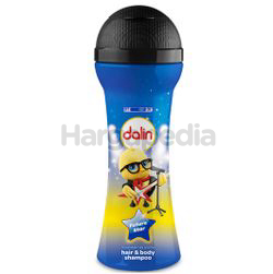 Dalin Microphone Bottle Kids Hair & Body Wash Mixed Berries 300ml