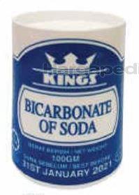 Kings Bicarbonate Soda 100gm