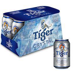 Tiger Crystal Beer Can 6x320ml