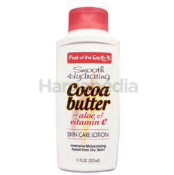 Fruit of the Earth Cocoa Butter Lotion 325ml