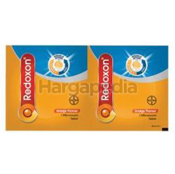 Redoxon Double Action Vitamin C & Zinc Effervescent Orange 2s