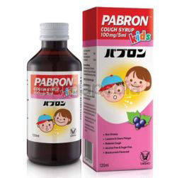 Pabron Cough Kids Syrup 120ml