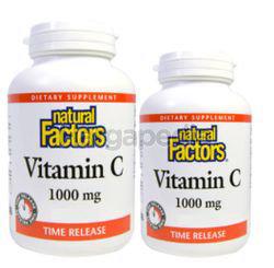 Natural Factors Vitamin C With Bioflavonoids & Roseships 180s+90s