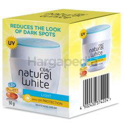 Olay Natural White Light With UV Protection Whitening Cream 50gm