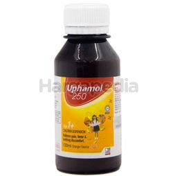 Uphamol 120mg Infant Syrup Suspension Orange 100ml