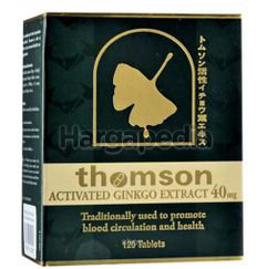 Thomson Activated Ginkgo 40mg 120s