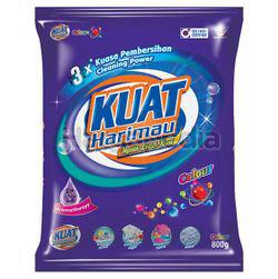 Kuat Harimau Detergent Powder Colour 800gm