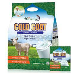 Harwany Gold Goat Milk Powder 18x21gm