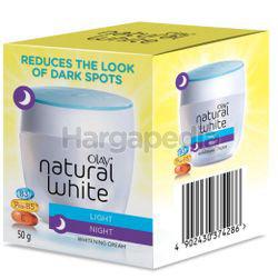 Olay Natural White Light Night Whitening Cream 50gm