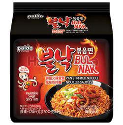 Paldo Spicy Fire Octopus Noodle 4x130gm