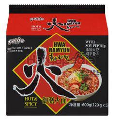 Paldo Korean Noodle Hwa Ramyun 5x120gm