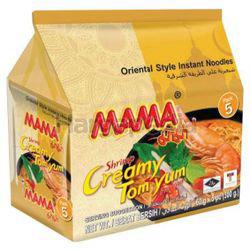 Mama Instant Noodle Shrimp Creamy Tom Yam 5x60gm