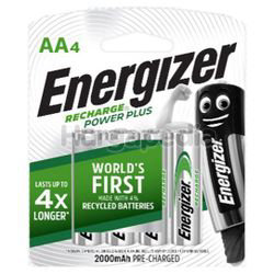 Energizer Rechargeable Battery 4AA