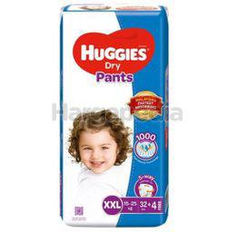 Huggies Dry Pants XXL32+4