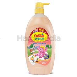 Carrie Junior Baby Hair & Body Wash Yoghurt Apricot 1lit