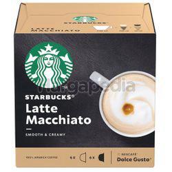 Starbucks Latte Macchiato 12 Cap 120gm