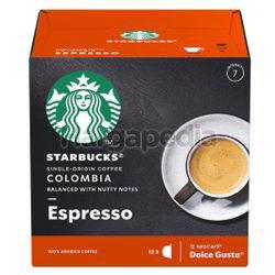 Starbucks Colombia Espresso 12 Cap 66gm