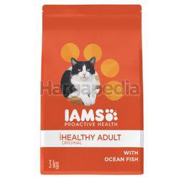 IAMS Pro Health Adult Dry Cat Food Ocean Fish 3kg