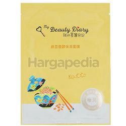 My Beauty Diary Natto Fermented Moisturizing Mask 1s