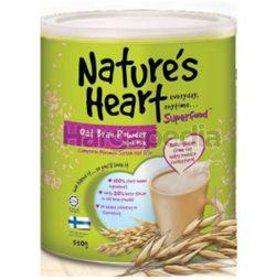 Nature's Heart Oat Bran Powder Drink Mix 550gm