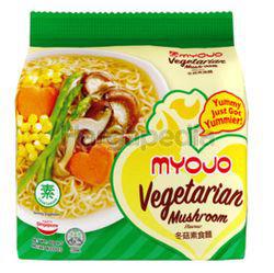 Myojo Instant Noodles Vegetarian Mushroom 5x80gm
