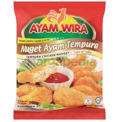 Ayam Wira Tempura Chicken Nugget 700gm