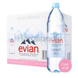 Evian Mineral Water 12x1.25lit