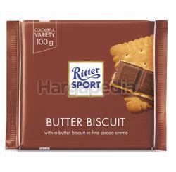 Ritter Sport Butter Biscuit Milk Chocolate 100gm